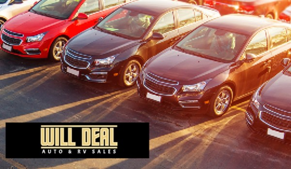 Cars for All Budgets at Will Deal Auto & RV Sales in Great Falls, MT